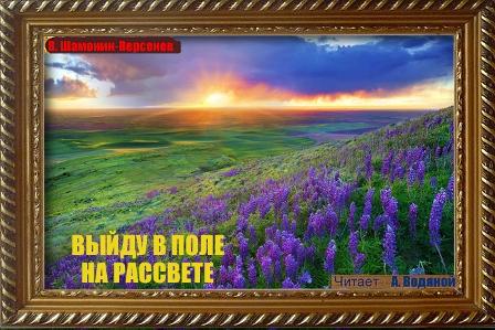 Выйду в поле на рассвете... Виктор Шамонин-Версенев
