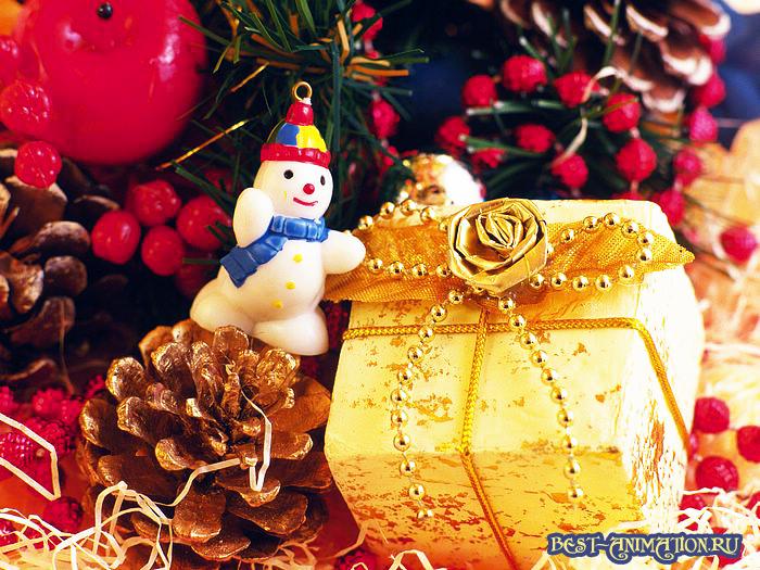 Новый Год 2015 Синяя Коза картинка, фото Подарок