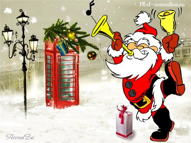 Новогодняя картинка и фото для любимых людей Зима, Улица