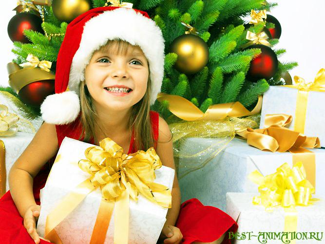 Новый Год 2015 Синяя Коза картинка, фото Подарки