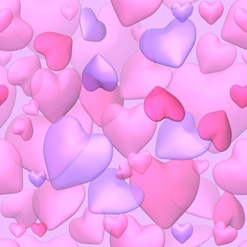 Картинка на День Всех Влюбленных Сердечки