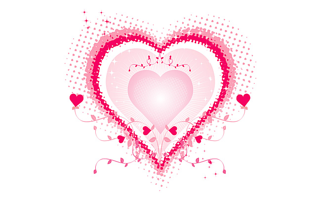 Картинка на День Валентина Сердце любимым