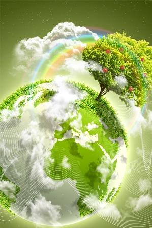 Счастливая планета, картинка к стихам Анны Купровской