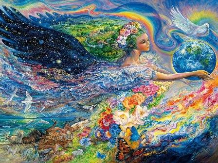 Красота мира и творчества, картинка к стихам Анны Купровской