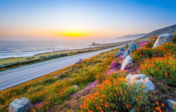 Красота природы, рассвет, картинка к стихам Анны Купровской